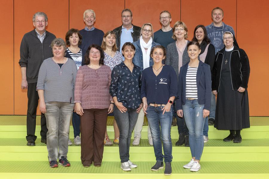 Weihnachtsfeier Nordhorn.Marienschule Nordhorn Das Kollegium